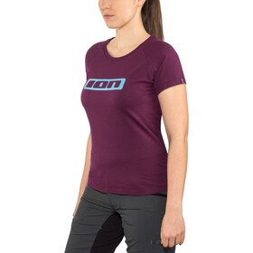 ION Logo Tee SS Damen pink isover